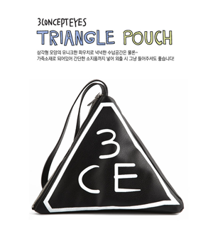 3CE TRIANGLE POUCH