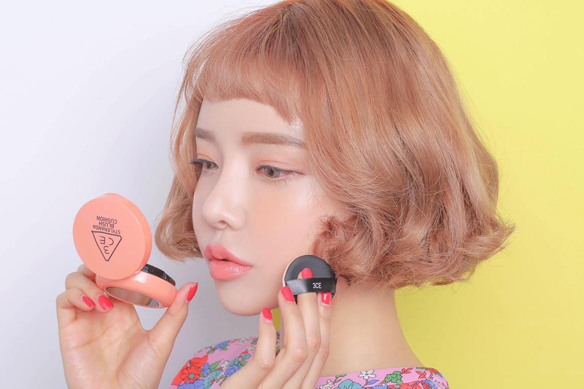 3CE BLUSH CUSHION #PEACH