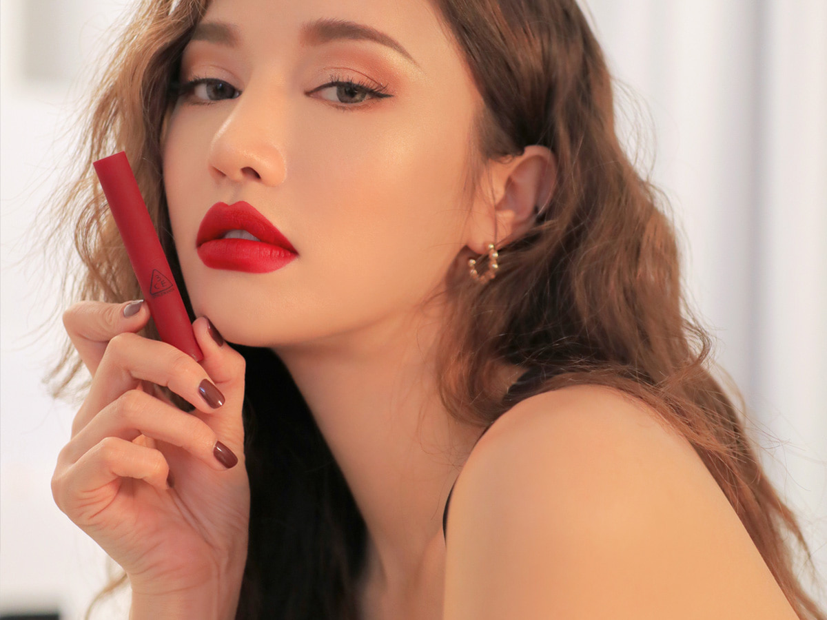 3CE SLIM VELVET LIP COLOR #TRUE RED