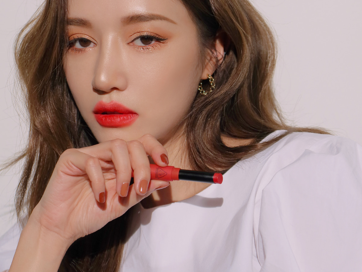 3CE SLIM VELVET LIP COLOR #PALE RED